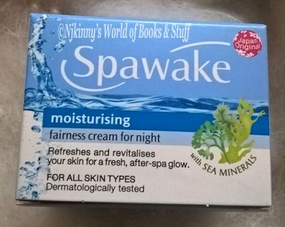 Product Review: Spawake Moisturising Fairness Cream For Night ~ Njkinny's World of Books & Stuff http://www.njkinnysblog.com/2015/12/spawake-moisturising-fairness-cream-for.html
