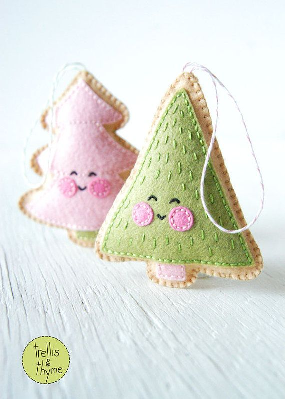 PDF Pattern Merry Little Trees Sewing Pattern by sosaecaetano