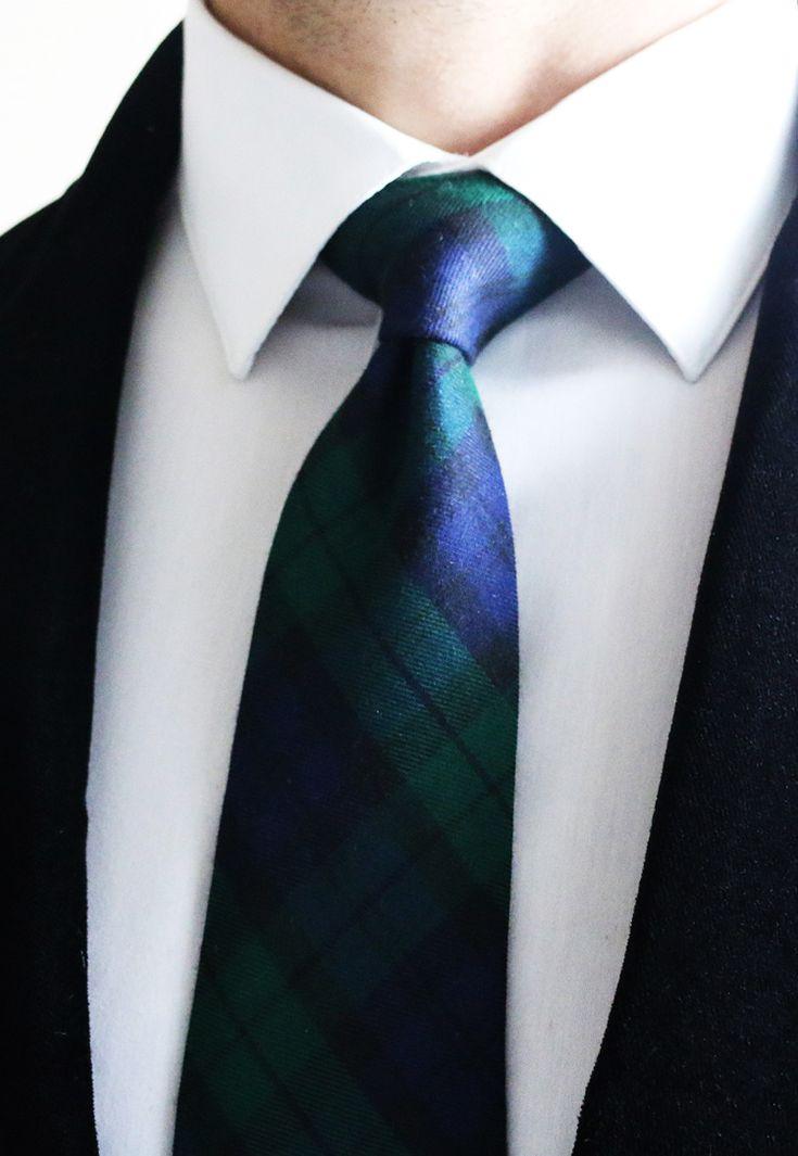 Tartan. Lord Wallington   http://lordwallington.com/product/black-watch-tartan-tie-2/