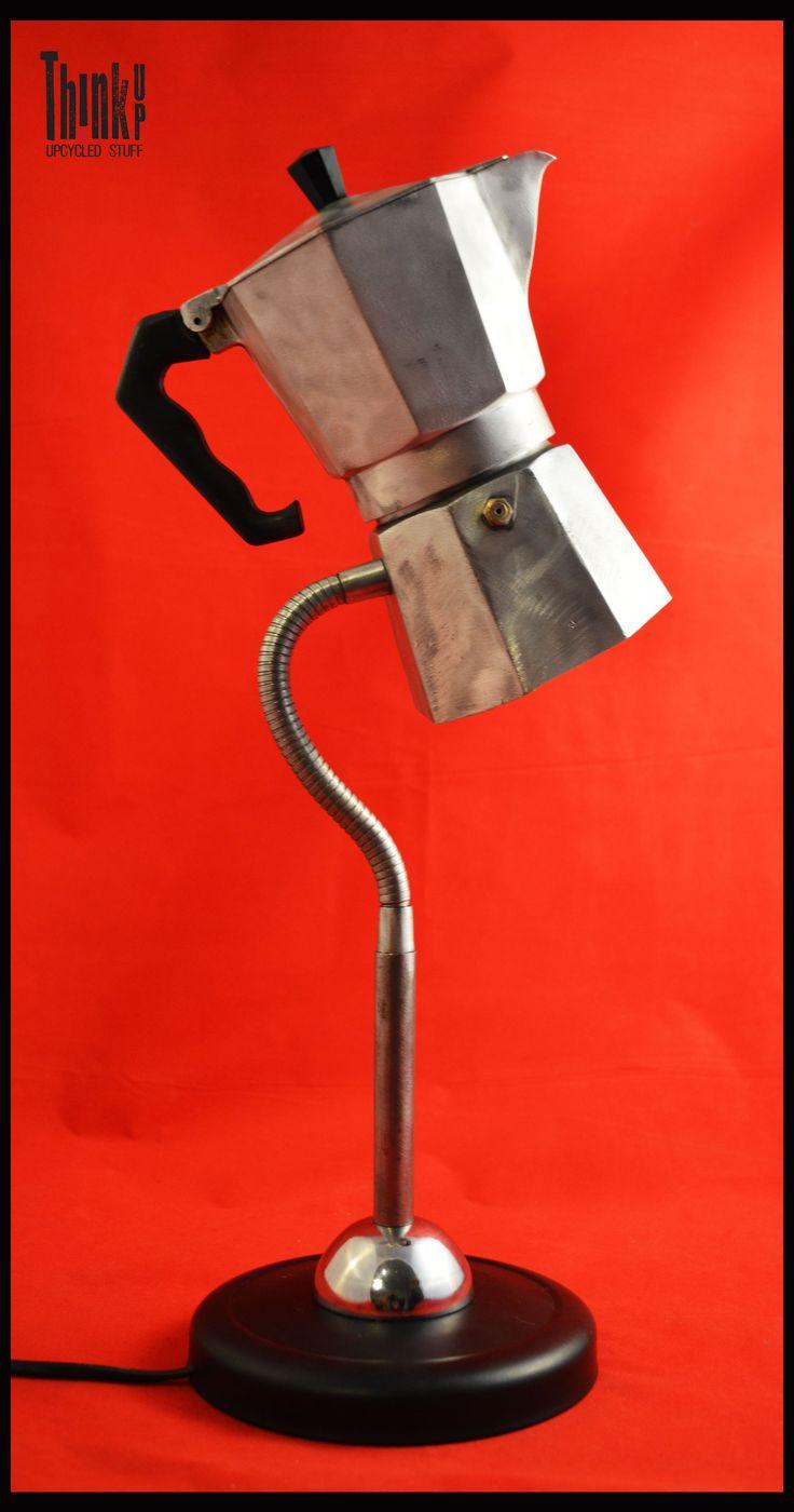 Lampada MOKA con braccio regolabile
