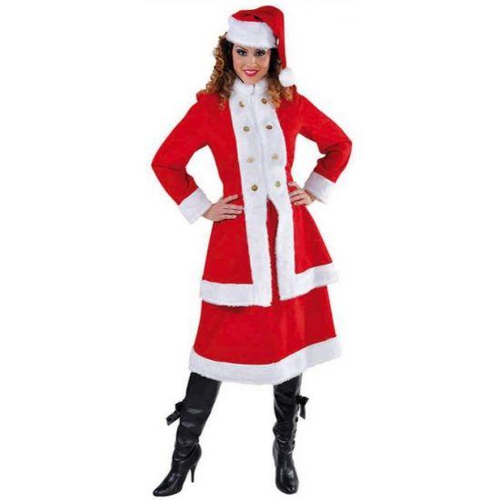 Russische kerst kostuum voor dames  Russische kerstvrouw kostuum voor dames. Prachtig dames kostuum in Russische stijl. Bestaat uit de mantel rok en muts. Materiaal: 100% polyester.  EUR 59.95  Meer informatie