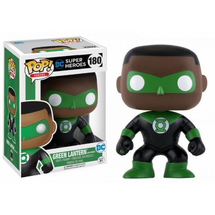 Funko POP! DC Super Heroes Green Lantern JOHN STEWART #180 Vinyl Figure