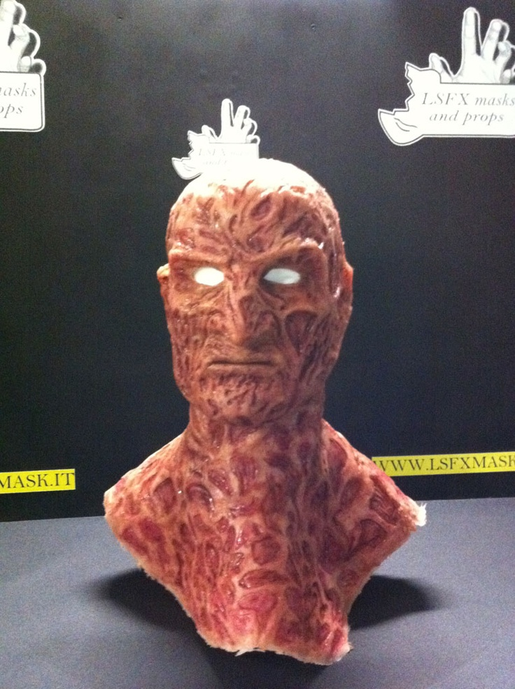 Silicone De Luxe Freddy Krueger Mask from LSFX Masks & Props