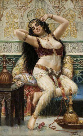 Joseph Sedlacek (Austrian, 1789 -1845) – A Harem Beauty
