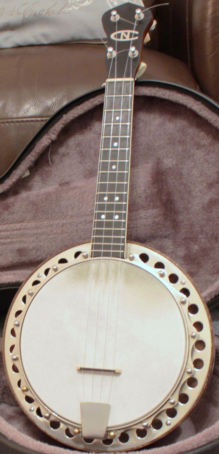 1970s Ron Beddoes New Concert Banjo Ukulele…