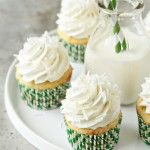 Coconut, lime and buttercream frosting? Awesome!