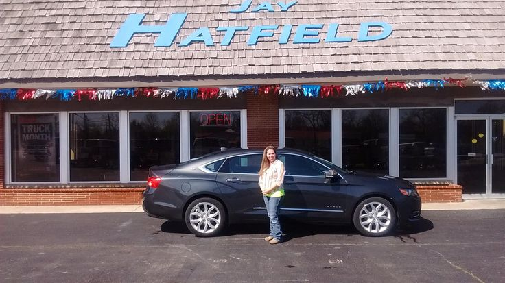 Jessica, we're so excited for all the places you'll go in your 2014 Chevy Impala!  Safe travels and best wishes on behalf of Jay Hatfield Ford and Scot Fisher.