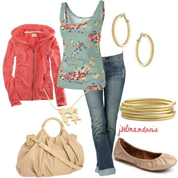cute!: Casual Outfit, Outfit Idea, Color Combos, Jackets, Tanks Tops, Winter Outfit, Comfy Casual, Cute Outfit, Gold Jewelry