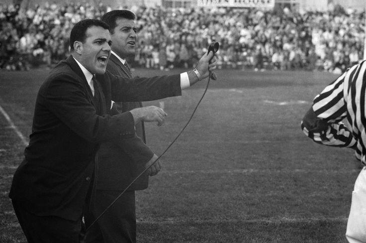 My Papa alongside Northwestern Coach Ara Parseghian in the 1960s (playing against Ohio) http://ift.tt/2wMFXej