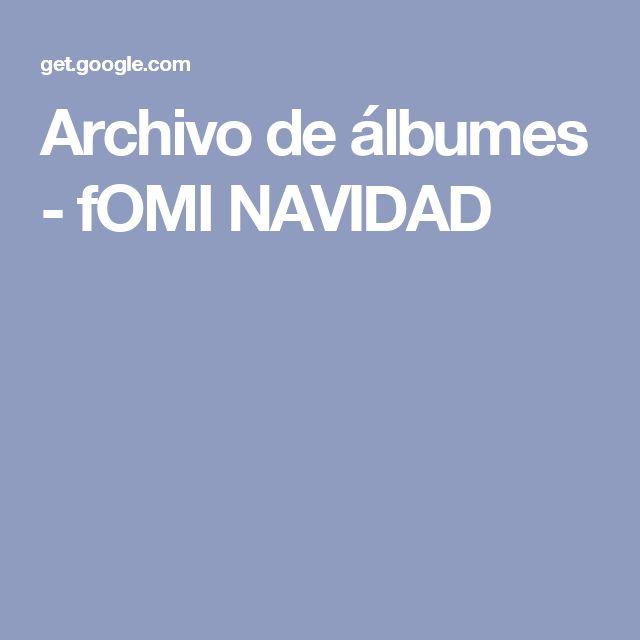 Archivo de álbumes - fOMI NAVIDAD