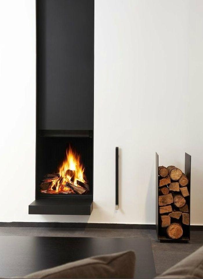 25 kühle Brennholz-Speicher-Entwürfe für moderne Häuser