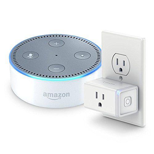 Echo Dot (2nd Generation) - White + TP-Link Smart Plug Mi