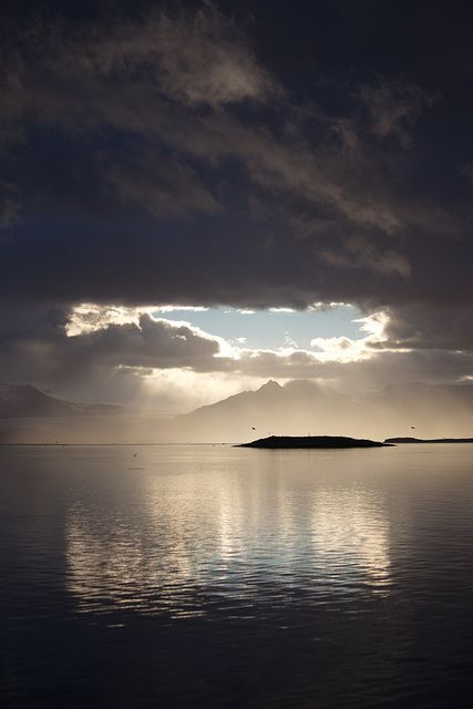Cloud's Silver Lining - Iceland