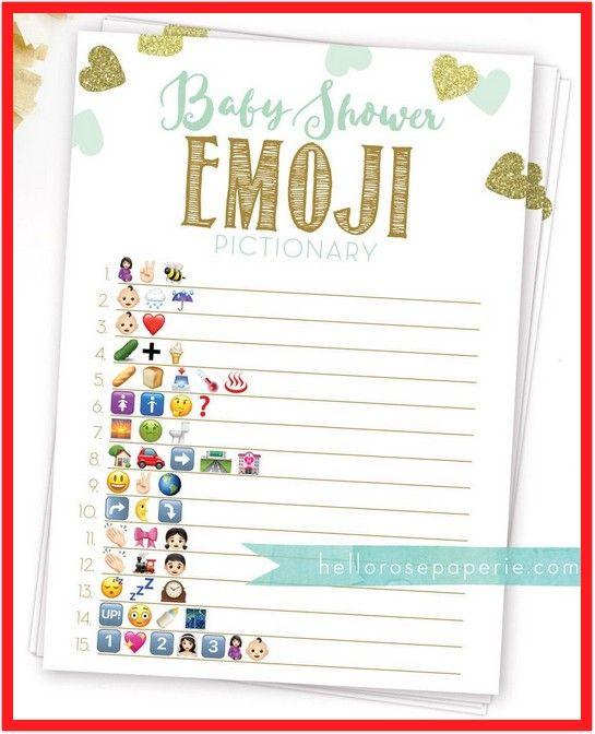 Baby Shower Emoji Answer Key : shower, emoji, answer, Reference, Shower, Emoji, Pictionary, Twins, Shower,, Sprinkle