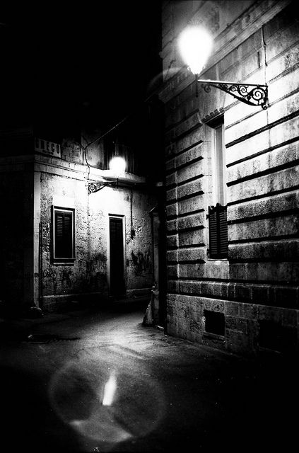 Dark alley dead end, photograph by Tunguska RdM