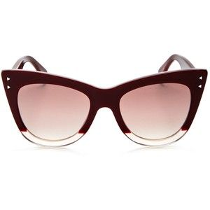 Fendi Two Tone Cat Eye Sunglasses, 50mm