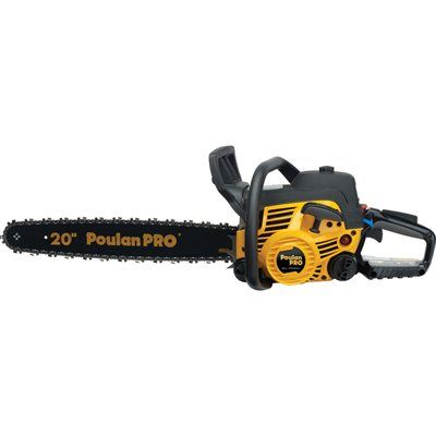 Poulan Pro Pp5020 50cc 2 Cycle 20 In Gas Chainsaw With