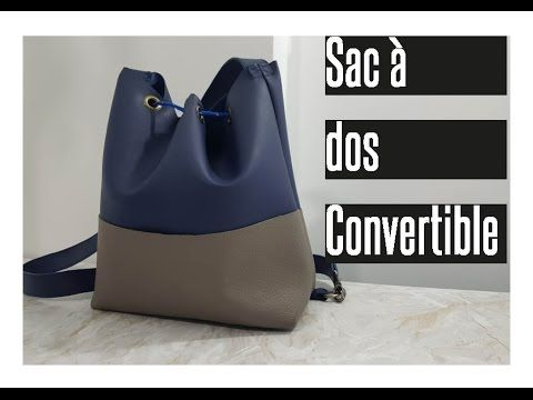 DIY: COUDRE UN SAC À DOS ÉTANCHE / HOW TO SEW A BACKPACK - YouTube