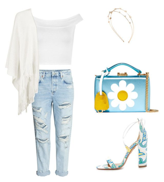 """Waiting for the sun"" by lula-kruta ❤ liked on Polyvore featuring Mark Cross, Aquazzura, WearAll, Boohoo and Charlotte Russe"