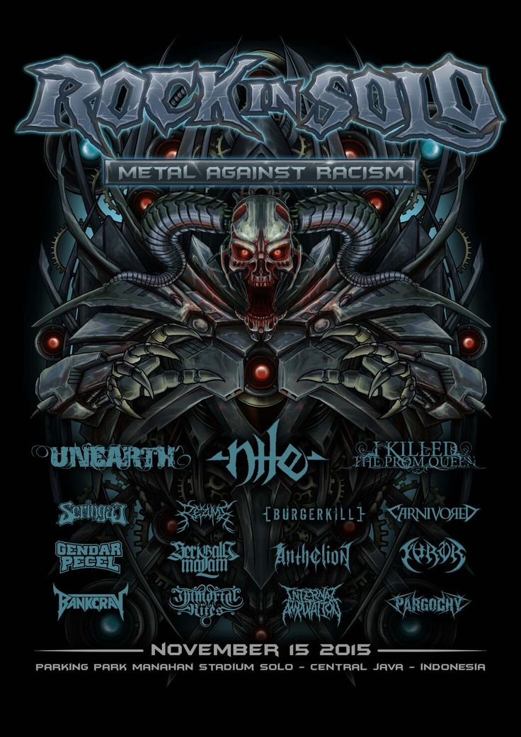 Poster Rock In Solo 2015