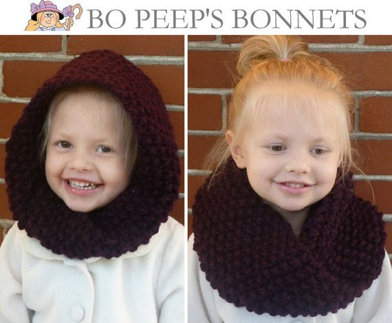 Hand Knit Toddler/Kids Cowl CHOOSE COLOR - Children's Seed Stitch Mobius Cowl, Knit Toddler Cowl, Kids Cowl, Kids Infinity Scarf Loop Scarf by BoPeepsBonnets, $32.00
