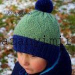 Вязаная шапка для мальчика спицами. Для вязания шапки понадобится:   Пряжа Тайга Олимп. Состав: 100% мериносовая шерсть, superwash. Длина нити в мотке: 50г/120 м.   Подклад: флис. Спицы №4, круговые.  Шапка связана на голову 51-52 см. Высота ...