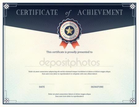 25+ melhores ideias de Modelo de certificado de realização no - army certificate of appreciation