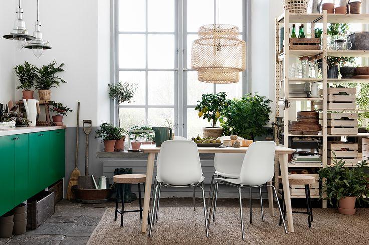 """Aplicando o conceito """"savoring"""" na decoração --- Tenha ervas, alimentos frescos, e cheirinho de um bom café em seu lar."""