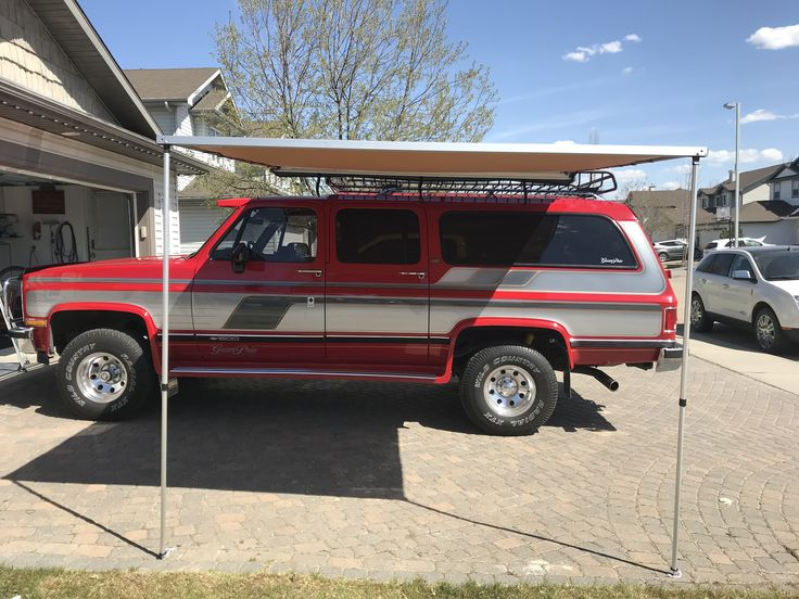 Arb 2500 2 5 Meter Awning Installed On A Yakima