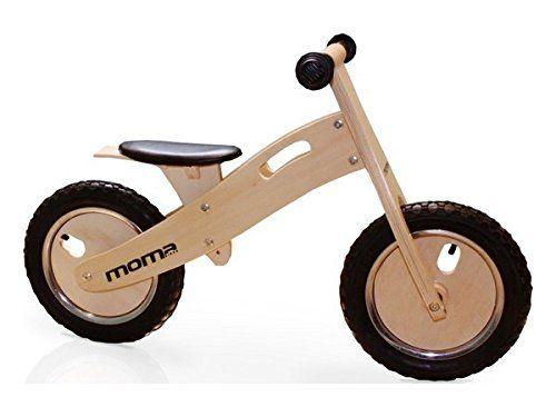 Moma - Bicicleta infaltil de madera Woody Classic