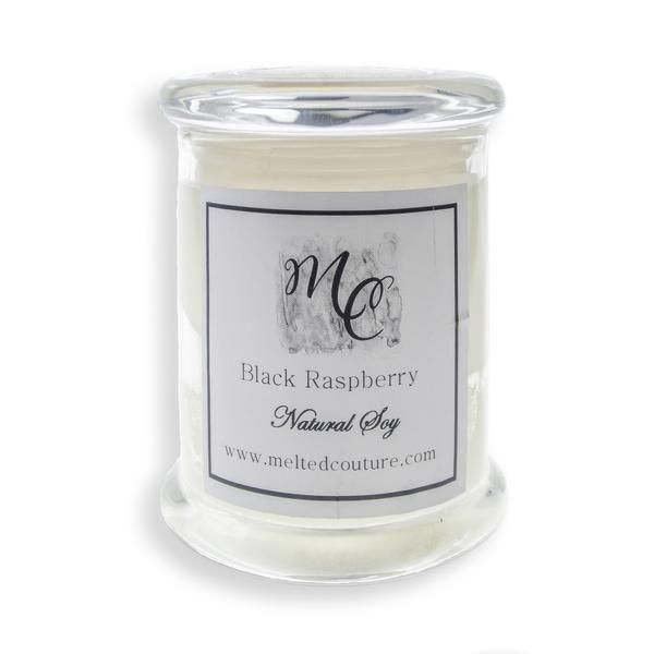 Natural soy candles from Melted Couture are beautifully scented & burn for 40 hours. Available in Satin Sheets, Black Raspberry & Coconut Lime. Purchase online.