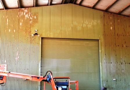 Machinery shed cleaning