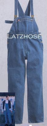+XXL Jeans-Latzhose Men at Work XS-15XL nach Maß