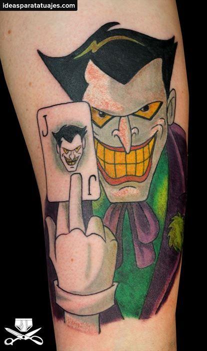 tatuajes de caricaturas Joker