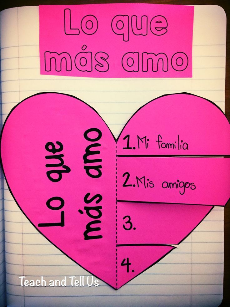 Valentine's Day in Spanish - San Valentin