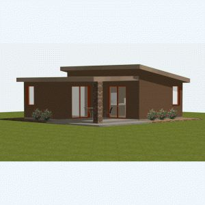 the 25+ best small modern house plans ideas on pinterest | modern