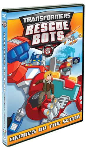 TRANSFORMERS RESCUE BOTS: Heroes on the Scene DVD US/CAN 4/2