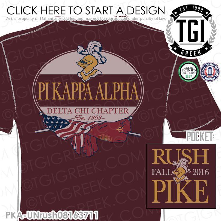 TGI Greek - Pi Kappa Alpha - Greek Apparel - #PiKappaAlpha #rush