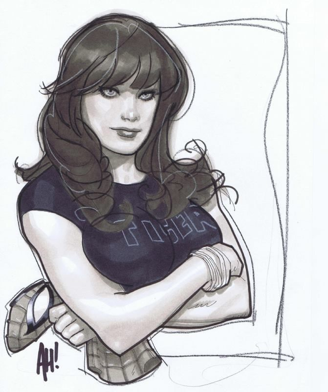 The Women Of Dc Comics Ink In Adam Withers S Dc Comics: Adam Hughes Net Worth And Wiki