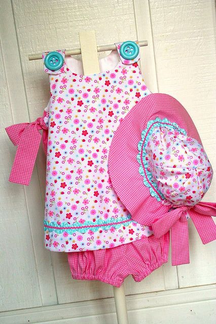 Baby playset with hat by iveyc95, via Flickr