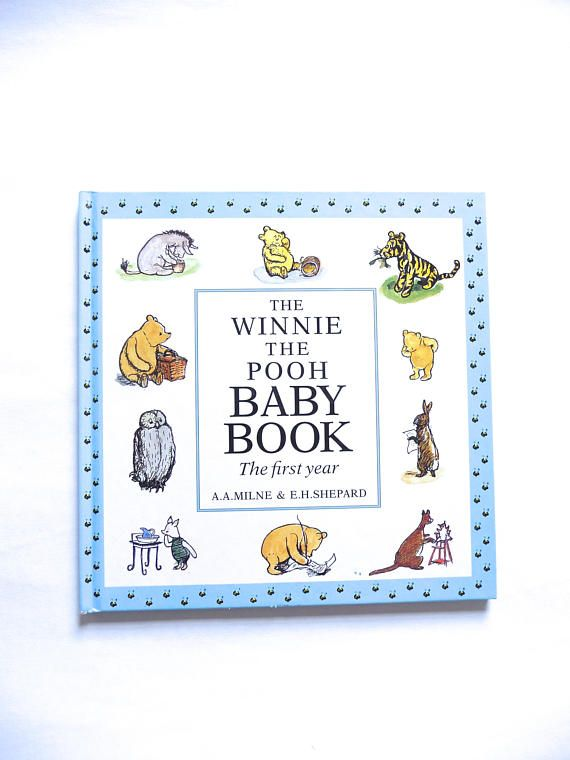 The Winnie-the-Pooh Baby book The First Year A.A. Milne E.H.