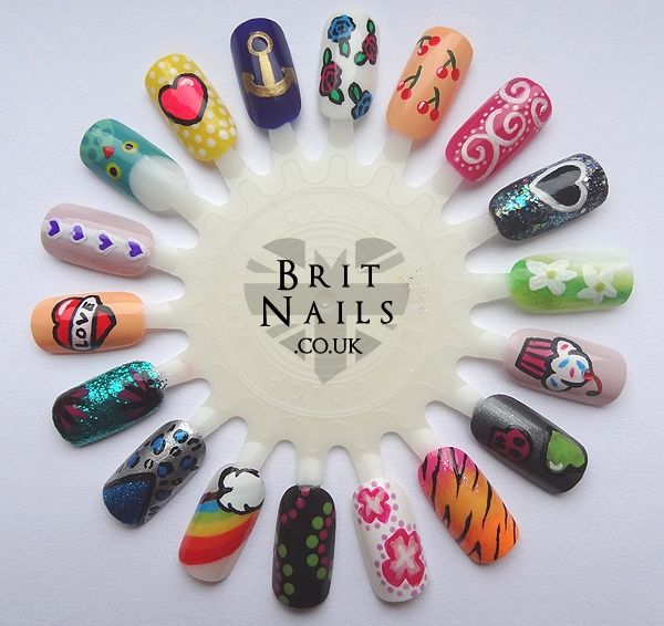 Going To Try Most Of These On My Nail Wheel