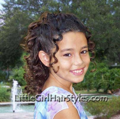 Young Girls Hairstyle Photo