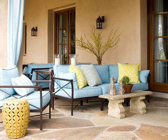 By staining existing concrete, you transform a drab patio, sidewalk, or driveway into a stunning surface that resembles stone, wood, or leather. Acid-base stains are available in earth tones, such as tan, brown, terra-cotta, and soft blue-green, while water-base stains expand the color palette.