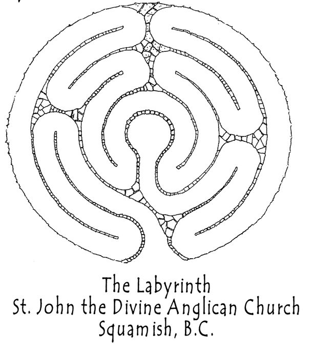 Image Detail For  . The Divine Anglican Church Squamish   Labyrinth  Memorial Garden