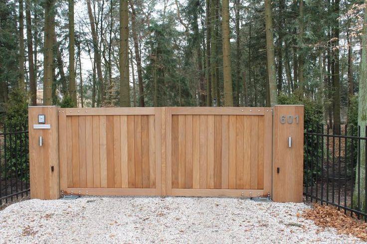 Hardhouten poorten – houten poort op maat | SolidWoodProjects