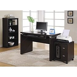 Shop for Cappuccino 48-inch Long Computer Desk. Get free delivery at Overstock.com - Your Online Office Furniture Store! Get 5% in rewards with Club O! - 13967223