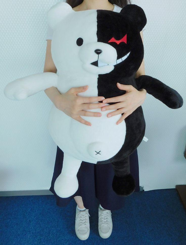 Life-sized monokuma plush >\\\< I need this in my life!