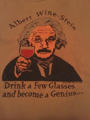 Wine-stein shirt