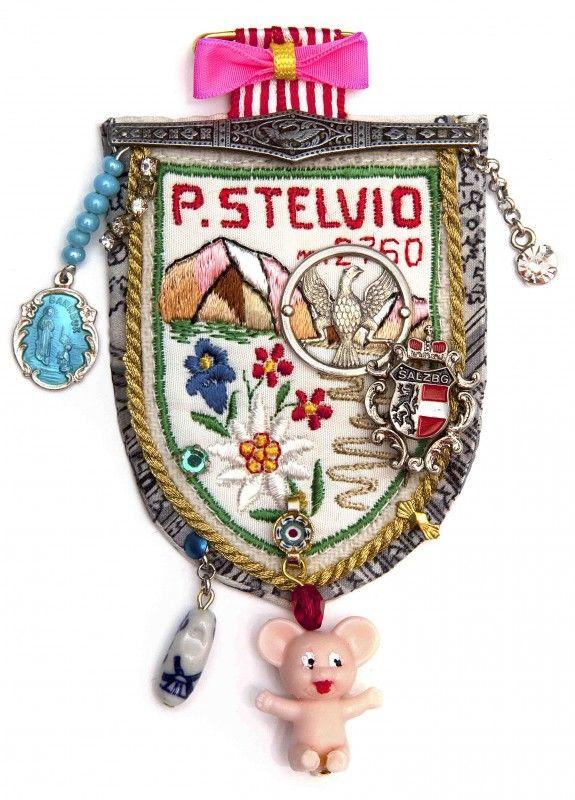 Collection Europe; Stelvio (brooch); design Parkwolf Juwelen; Maria van Aar